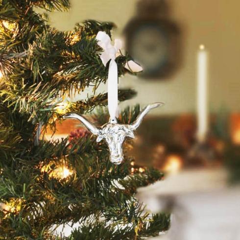$21.00 Longhorn Ornament