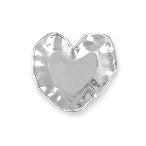 $38.00 HEART PLAIN TRAY