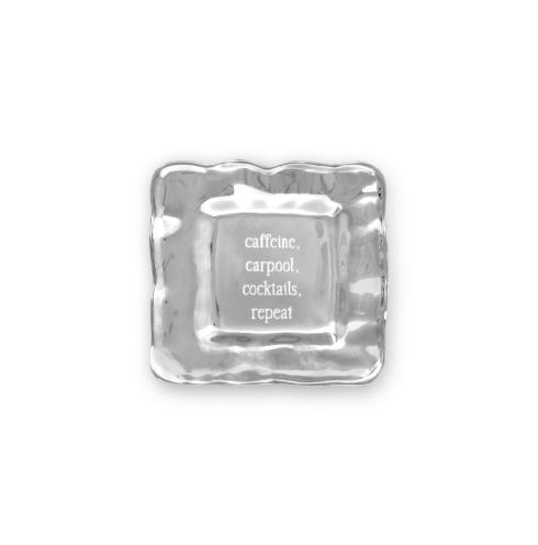 square engraved tray (
