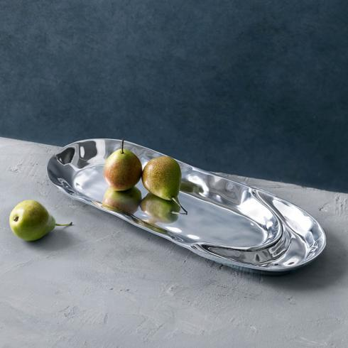 Beatriz Ball  Soho SOHO brooklyn petit ovl platter w/dip $83.00