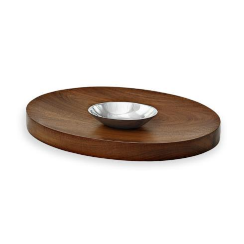 Beatriz Ball  WOOD Deep ovl w/dip bowl $139.00