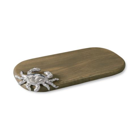 Beatriz Ball  WOOD Ocean crab ovl (sm) ash $67.00