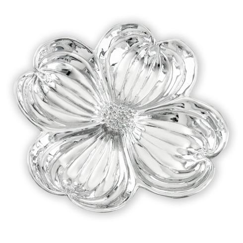 divided dogwood blossom bowl