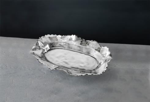 $150.00 ovl petal platter (lg)