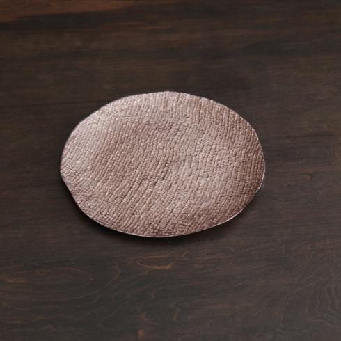 $97.00 Tela Medium Round Platter (Rose Gold)
