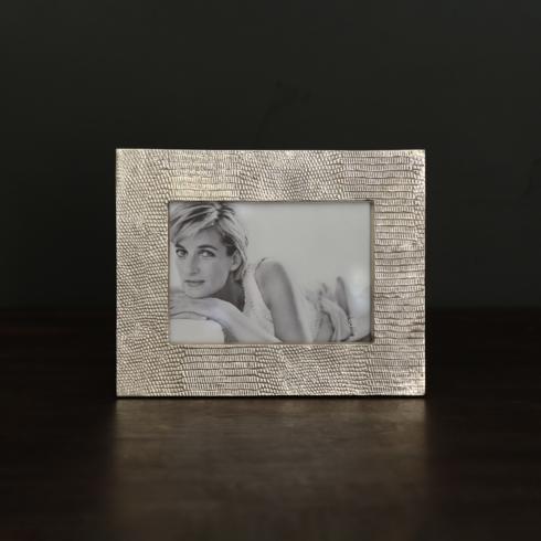 $133.00 FRAME Sierra Modern python 5 x 7 frame gold