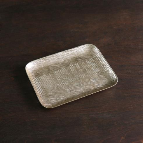 $69.00 GIFTABLES Python tray gold
