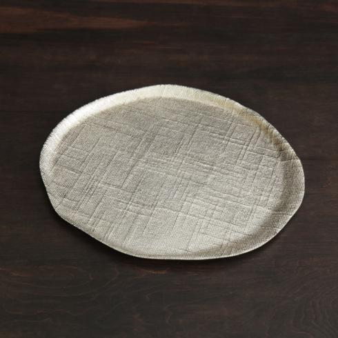 $144.00 Seattle Round Platter Gold Large