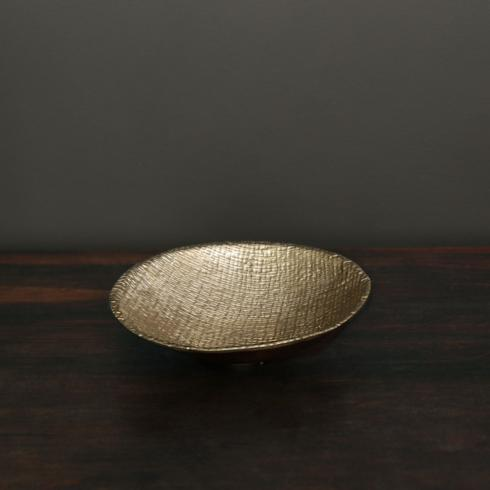 $72.00 SIERRA MODERN Tela bowl gold (md)