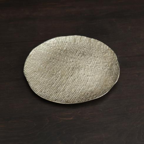 $97.00 Tela Round Platter Gold Medium