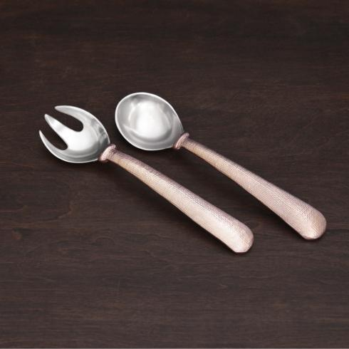 $57.00 SIERRA MODERN Fina salad servers rose gold