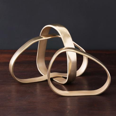 Rings Centerpiece Gold image