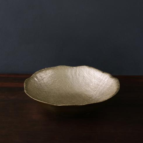 $116.00 Fina bowl gold (lg)