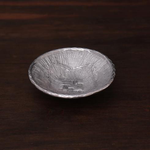 $57.00 Africa Basket Gunmetal Small