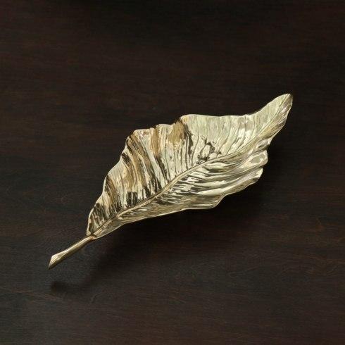 $84.00 Autumn Leaf Platter (Gold)