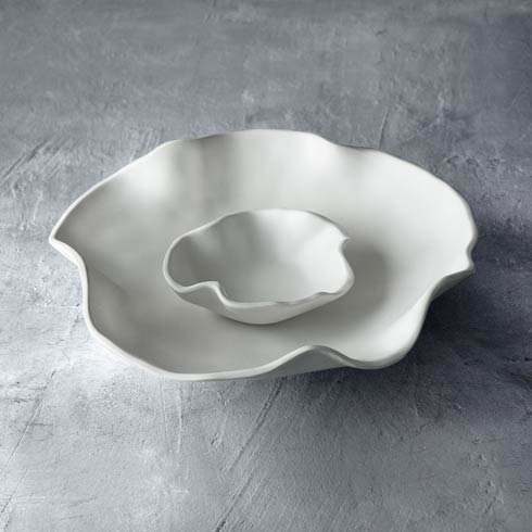 $69 Nube Bowl With Dip White