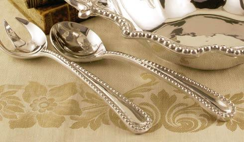 Beatriz Ball  Pearl Salad Servers $57.00