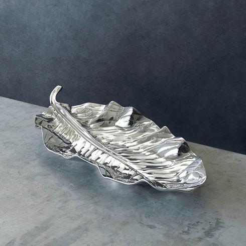 Zebra Leaf Platter (Lg) image
