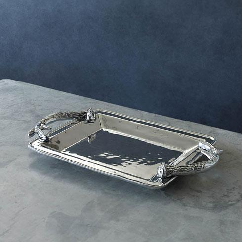 $169.00 Antlers Rectangular Tray (Md)