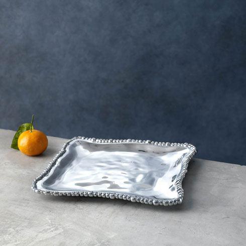 Beatriz Ball  Organic Pearl Square Platter (Sm) $92.00