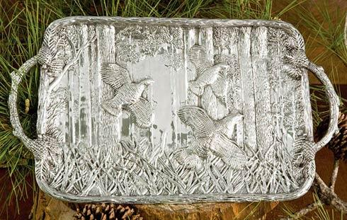 Beatriz Ball  Forest Quail Tray $180.00
