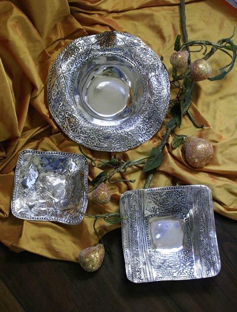 Beatriz Ball  Antik Leyla Square Bowl W/ Pearls (Sm) $48.00
