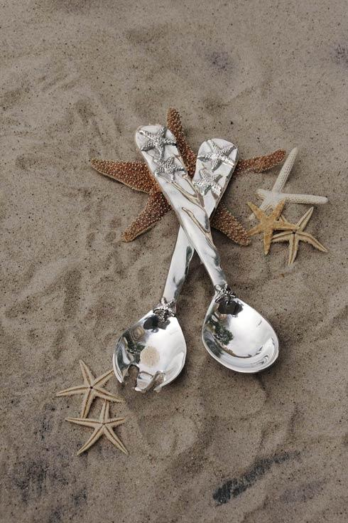 $63.00 Starfish Salad Servers