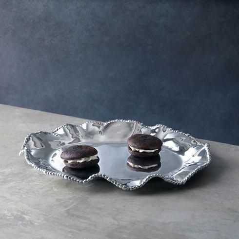 Beatriz Ball  Organic Pearl Olanes Oval Platter (Lg) $181.00