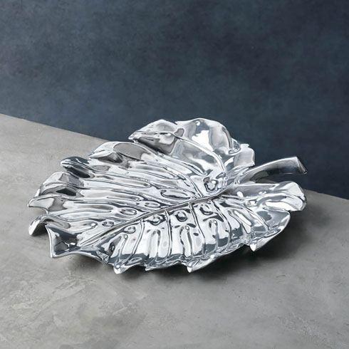 $124.00 Bali Leaf Platter (Lg)