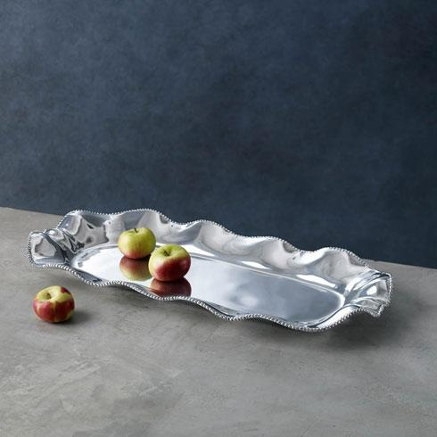 Beatriz Ball  Pearl Denisse Rectangular Platter $103.00