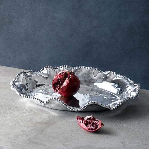 Beatriz Ball  Organic Pearl ORGANIC PEARL oval deep platter $174.00