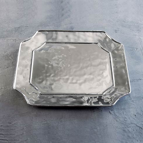 $125.00 Rect Lucca Platter (Lg)