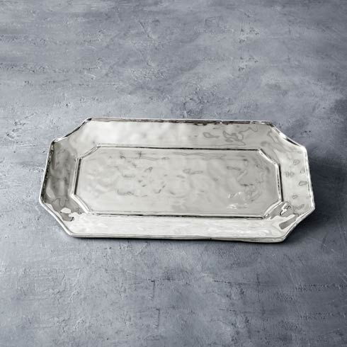 $112.00 Rect Long Lucca Platter