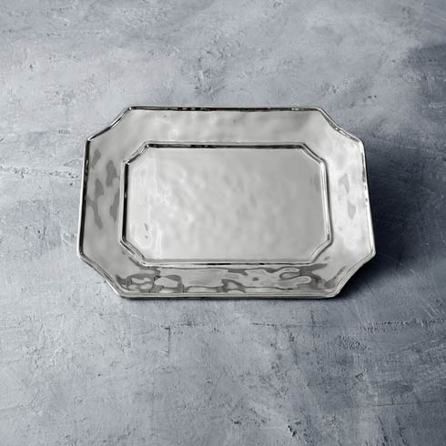 $93.00 Rect Lucca Tray (Md)