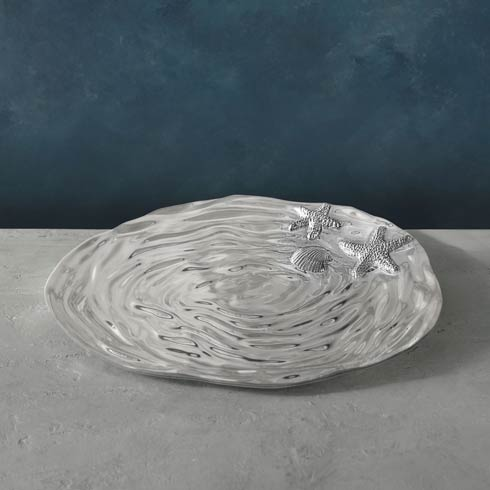 $130.00 Aruba Triangle Platter (Lg)
