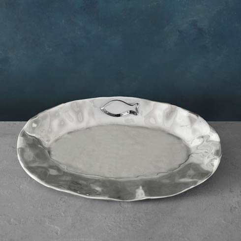 Camel Fish Oval Platter
