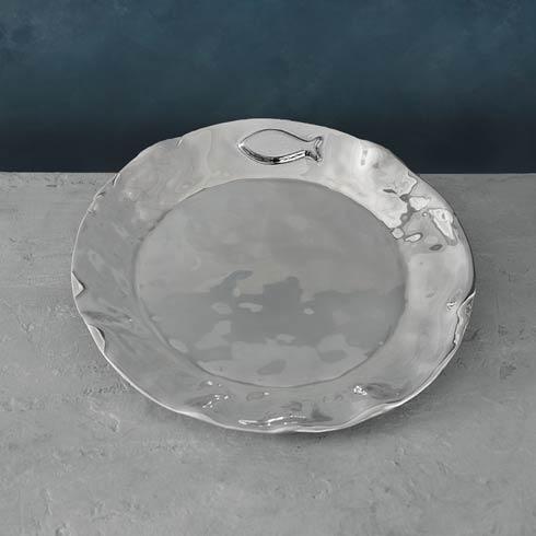 $117.00 Carmel Fish Round Platter
