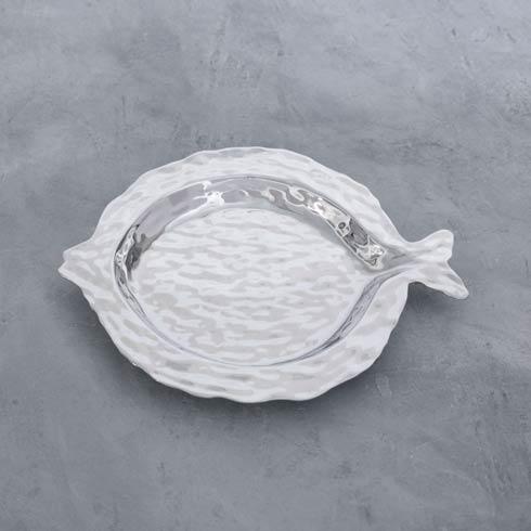 $105.00 Morocco Fish Round Platter Medium