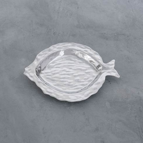 $74.00 Morocco Fish Small Round Platter