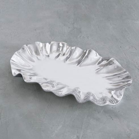 Beatriz Ball  Vento Bloom Large Oval Platter $198.00