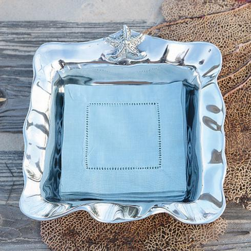 $65.00 Ocean Starfish Napkin Box