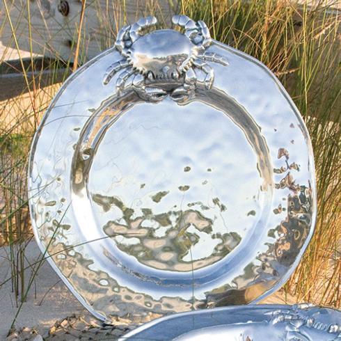 $137.00 Crab Plate Medium