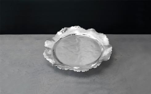 $126.00 petal rnd platter