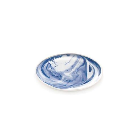 $45.00 Indigo Marble Side Plate