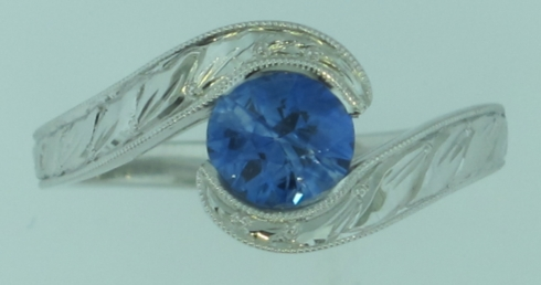 Custom Sapphire Ring collection with 1 products