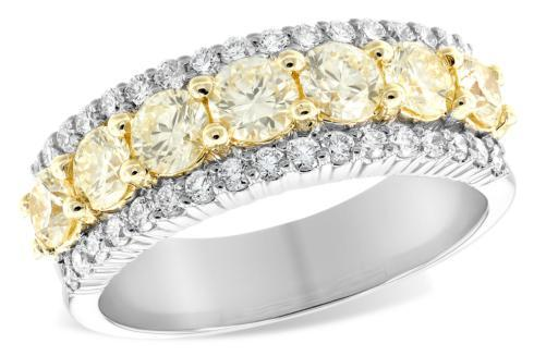 $5,695.00 1.20tcw Yellow Diamonds w/ 0.44tcw Diamonds