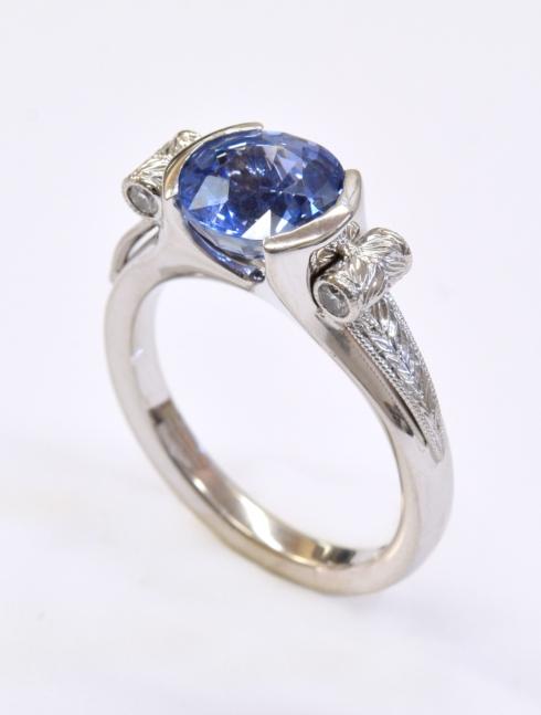 $7,600.00 Ceylon Sapphire 2.90ct