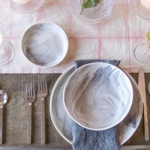 Stratus Marble Pasta Bowl collection with 1 products