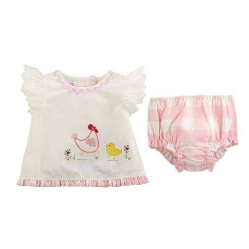 Chicken Pinafore & Bloomer Set 6-9m collection with 1 products