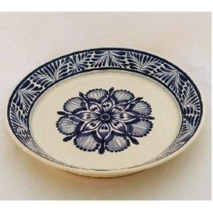 Gorky Pottery   Gorky Blue & White Large Deep Platter $74.00